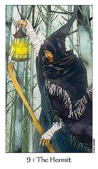 The Hermit Tarot Card - Dreaming Way Tarot Deck