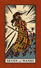 english-magic - Seven of Wands