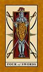 english-magic - Four of Swords