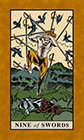 english-magic - Nine of Swords