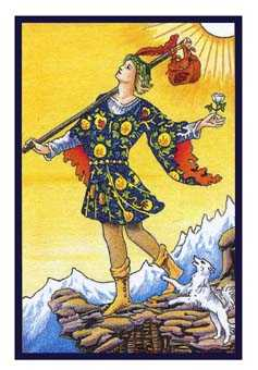 The Foolish Man Tarot Card - Epicurean Tarot Recipe Cards Tarot Deck
