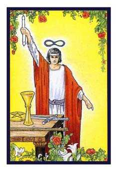 The Magus Tarot Card - Epicurean Tarot Recipe Cards Tarot Deck