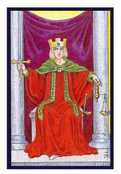 Justice Tarot Card - Epicurean Tarot Recipe Cards Tarot Deck
