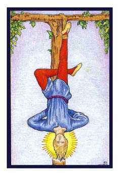 The Hanged Man Tarot Card - Epicurean Tarot Recipe Cards Tarot Deck