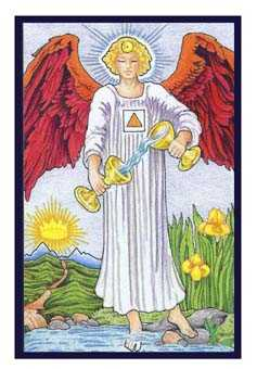 Temperance Tarot Card - Epicurean Tarot Recipe Cards Tarot Deck