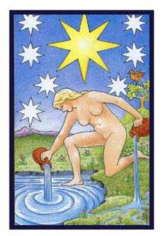 The Star Tarot Card - Epicurean Tarot Recipe Cards Tarot Deck