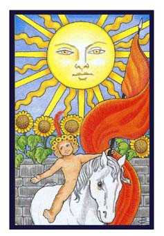 The Sun Tarot Card - Epicurean Tarot Recipe Cards Tarot Deck