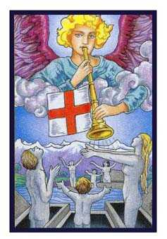 Judgement Tarot Card - Epicurean Tarot Recipe Cards Tarot Deck