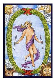 The World Tarot Card - Epicurean Tarot Recipe Cards Tarot Deck