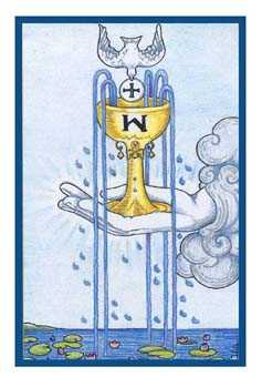 Ace of Cups Tarot Card - Epicurean Tarot Recipe Cards Tarot Deck
