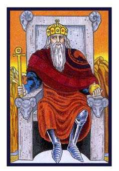 The Emperor Tarot Card - Epicurean Tarot Recipe Cards Tarot Deck