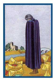 Five of Cups Tarot Card - Epicurean Tarot Recipe Cards Tarot Deck