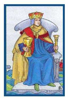 King of Water Tarot Card - Epicurean Tarot Recipe Cards Tarot Deck