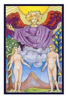 The Lovers Tarot Card - Epicurean Tarot Recipe Cards Tarot Deck