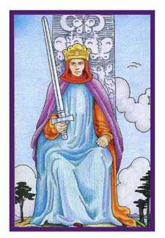 Roi of Swords Tarot Card - Epicurean Tarot Recipe Cards Tarot Deck