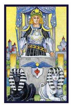 The Chariot Tarot Card - Epicurean Tarot Recipe Cards Tarot Deck