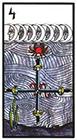 esoterico - Four of Swords
