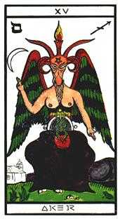 The Devil Tarot Card - Esoterico Tarot Deck