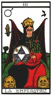 The Empress Tarot Card - Esoterico Tarot Deck