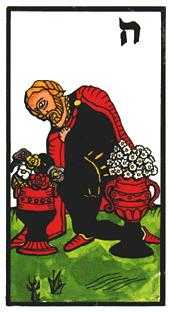 Slave of Cups Tarot Card - Esoterico Tarot Deck