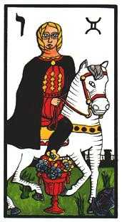 Prince of Hearts Tarot Card - Esoterico Tarot Deck