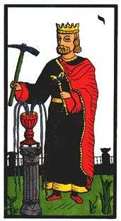 King of Cups Tarot Card - Esoterico Tarot Deck
