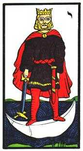 King of Bats Tarot Card - Esoterico Tarot Deck