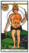 The Magician Tarot card in Esoterico deck