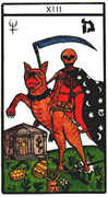 Death Tarot card in Esoterico deck