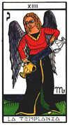 Temperance Tarot card in Esoterico deck