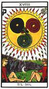 The Sun Tarot card in Esoterico deck