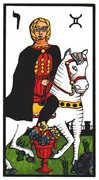 Knight of Cups Tarot card in Esoterico Tarot deck