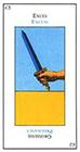 etteilla - Ace of Swords