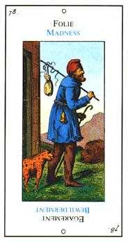 The Foolish Man Tarot Card - Etteilla Tarot Deck