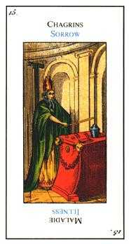 The Magician Tarot Card - Etteilla Tarot Deck
