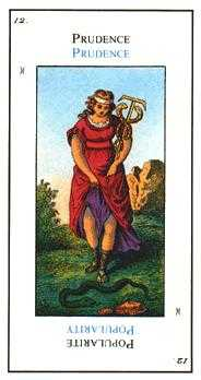 The Lone Man Tarot Card - Etteilla Tarot Deck
