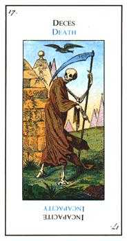 The Close Tarot Card - Etteilla Tarot Deck