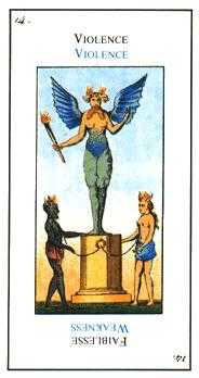 The Devil Tarot Card - Etteilla Tarot Deck