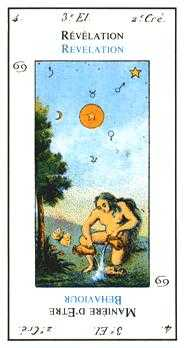 The Star Tarot Card - Etteilla Tarot Deck