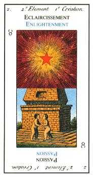 The Sun Tarot Card - Etteilla Tarot Deck