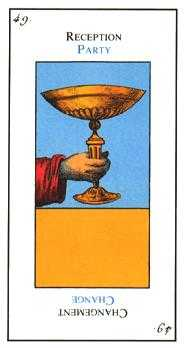 Ace of Cups Tarot Card - Etteilla Tarot Deck