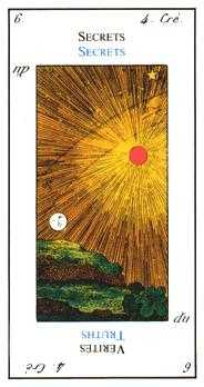 The Emperor Tarot Card - Etteilla Tarot Deck