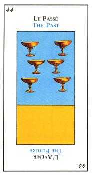 Six of Bowls Tarot Card - Etteilla Tarot Deck
