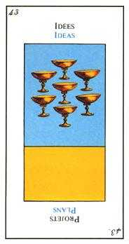Seven of Cups Tarot Card - Etteilla Tarot Deck