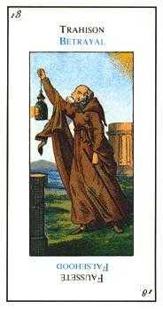 The Hermit Tarot Card - Etteilla Tarot Deck