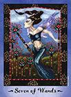 faerie-tarot - Seven of Wands