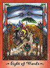 faerie-tarot - Eight of Wands