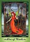 faerie-tarot - Nine of Wands