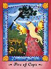 faerie-tarot - Five of Cups