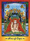 faerie-tarot - Nine of Cups